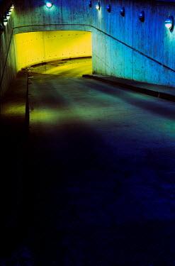 Ute Klaphake ramp and car park at night