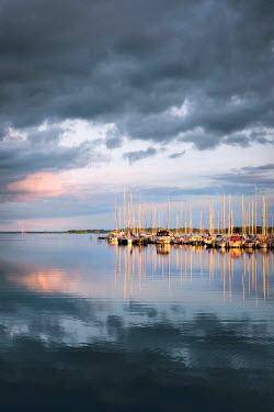 Evelina Kremsdorf Yachts moored in marina Boats