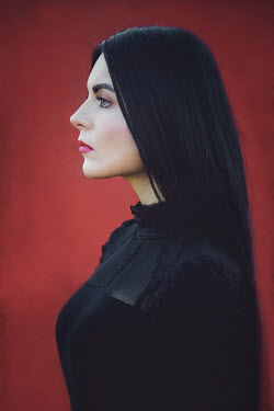Joanna Czogala Profile of young woman with black hair