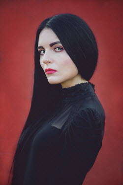 Joanna Czogala Young woman with black hair