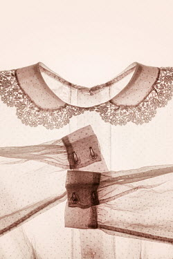 Amy Weiss WHITE BLOUSE WITH LACY COLLAR Miscellaneous Objects