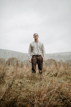 Shelley Richmond Young man with glasses in field
