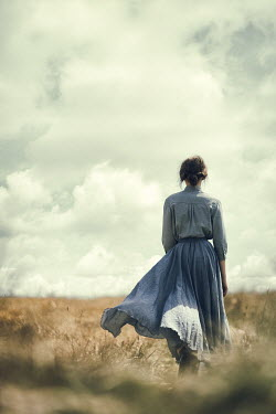 Magdalena Russocka woman standing in field