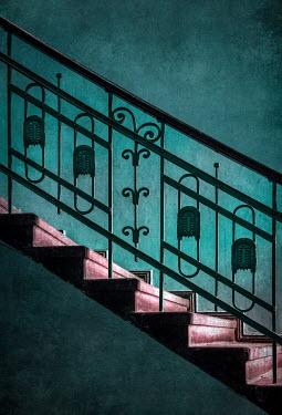 Jaroslaw Blaminsky CLOSE UP OF DECORATIVE STAIRCASE Stairs/Steps