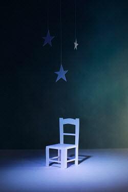 Catherine Macbride Paper craft chair under star