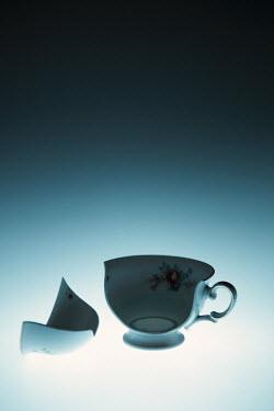 Magdalena Russocka close up of broken vintage teacup