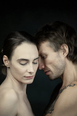 Magdalena Russocka close up of unhappy naked couple