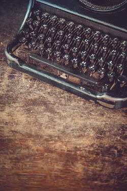 Joanna Czogala Typewriter on wooden table