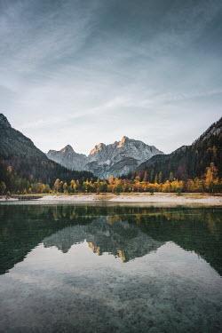 Evelina Kremsdorf Lake Jasna. Kranjska Gora. Triglav National Park. Slovenia.