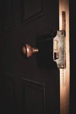 Peter Chadwick Door knob in shadow