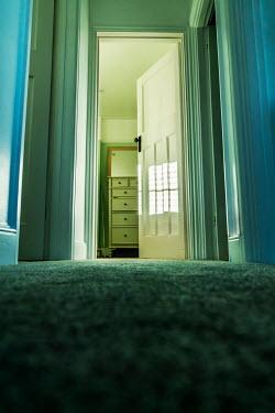 Stephen Mulcahey OPEN BEDROOM DOOR FROM BELOW Interiors/Rooms