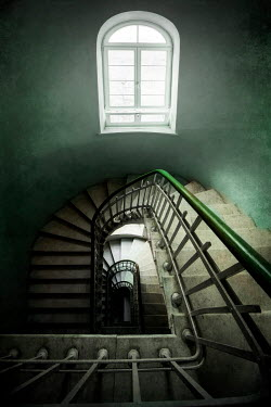 Jaroslaw Blaminsky STAIRCASE AND WINDOW IN HISTORICAL BUILDING Stairs/Steps