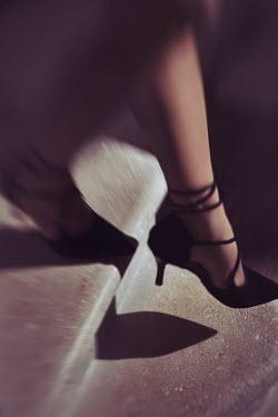 Alex Maxim FEMALE FEET IN HIGH HEELS ON STEPS Women
