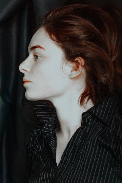 Daria Amaranth CLOSE UP OF WOMAN WITH RED HAIR IN PROFILE Women