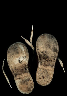 Amy Weiss CHILDREN'S SHOES FROM BELOW Miscellaneous Objects