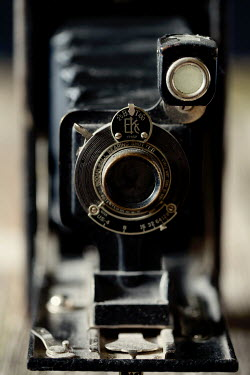 Jaime Brandel CLOSE UP OF ANTIQUE CAMERA Miscellaneous Objects
