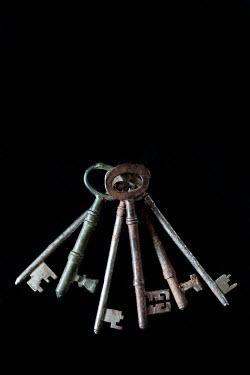 Jaime Brandel BUNCH OF OLD RUSTY KEYS Miscellaneous Objects