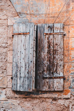 Magdalena Wasiczek close up of old wooden shutters Building Detail