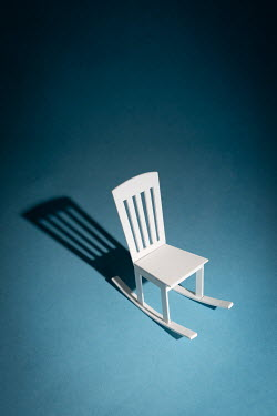 Peter Chadwick White model rocking chair