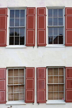 Alicia Bock Windows of house with shutters