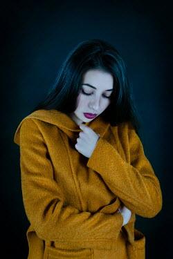 Giada Piras Young woman in yellow coat