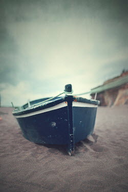 Anna Buczek Dinghy on beach