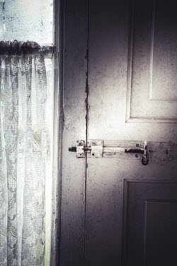 Marie Carr Bolt on door