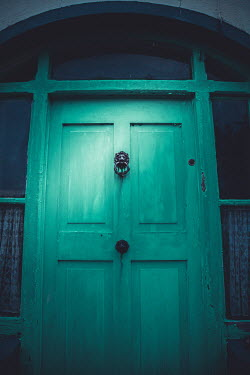 Marie Carr Green door to house