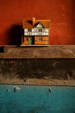 Stephen Mulcahey Model house on shelf