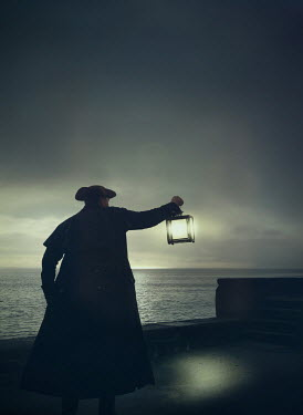 Mark Owen Pirate with lantern