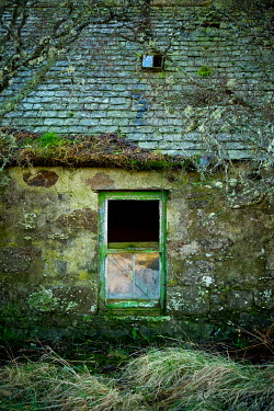 David Baker Window of abandoned house