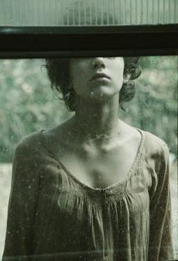 Giovan Battista D'Achille Girl behind window