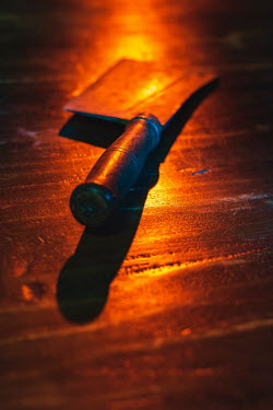 Ysbrand Cosijn Meat cleaver on wooden floor