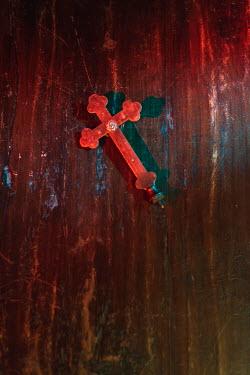Ysbrand Cosijn Cross on wooden floor