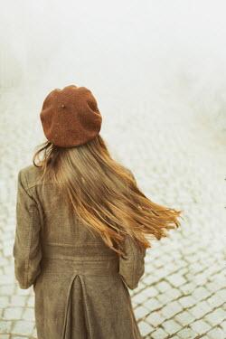 Svetoslava Madarova GIRL IN BERET ON COBBLED STREET Women