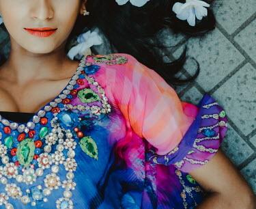 Lalita CLOSE UP OF ASIAN WOMAN IN ORNATE DRESS Women