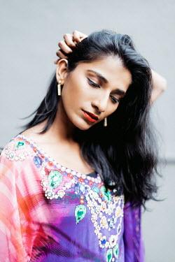 Lalita ASIAN WOMAN IN BEADED DRESS Women