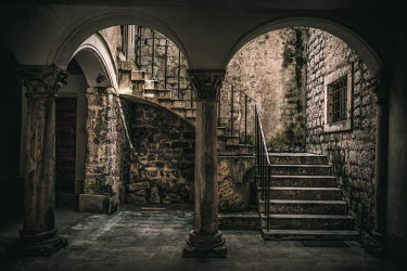 Jaroslaw Blaminsky STONE ARCHWAYS AND STEPS IN HISTORICAL BUILDING Stairs/Steps