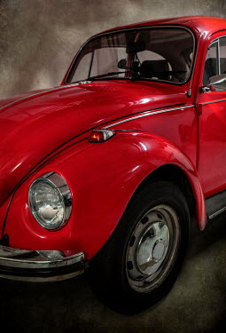 Jaroslaw Blaminsky CLOSE UP OF RED VOLKSWAGEN CAR Cars