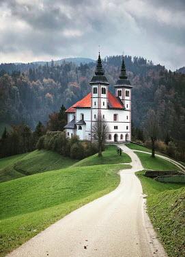 Evelina Kremsdorf Chateau on mountain
