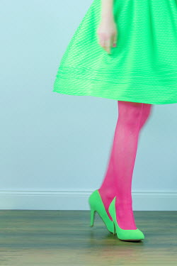 Magdalena Russocka woman in high heels dancing