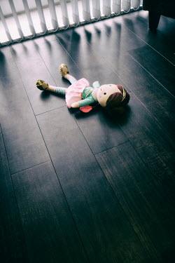 Tim Robinson Doll on wooden floor