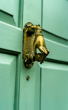 Stephen Mulcahey A brass front door knocker