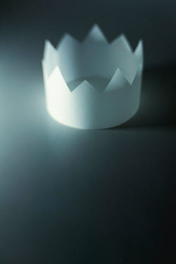 Catherine Macbride CLOSE UP OF PAPER CROWN Miscellaneous Objects