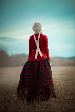 Ildiko Neer Historical servant standing in field