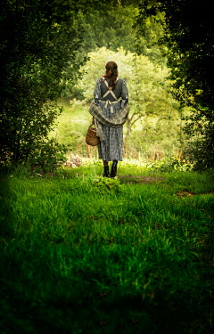 Stephen Mulcahey A maid walking into a forest,