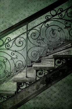 Jaroslaw Blaminsky CLOSE UP OF DECORATIVE STAIRCASE Stairs/Steps