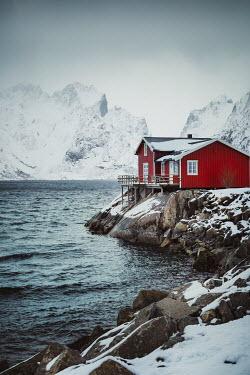 Evelina Kremsdorf Fishing hut by sea in Norway