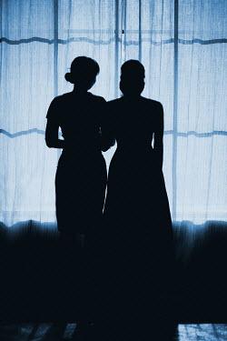 Ildiko Neer Two women standing at window