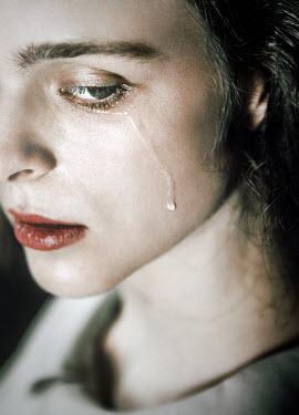 Natasza Fiedotjew Close up of young woman crying Women